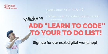 Add 'Learn To Code' To Your To-Do List! tickets