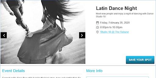 Salsa & Bachata Dance w/Match.com