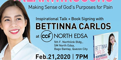 Bettinna Carlos at CCF North EDSA