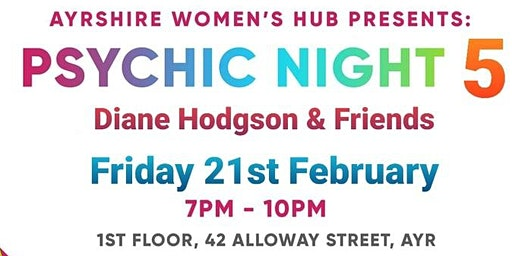 Psychic night with Diane Hodgson and Friends