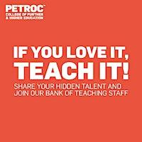 If you love it, teach it: Mid Devon Recruitment Event