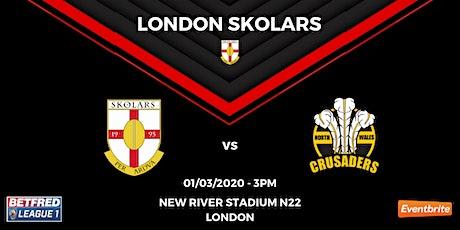 London Skolars vs North Wales Crusaders tickets