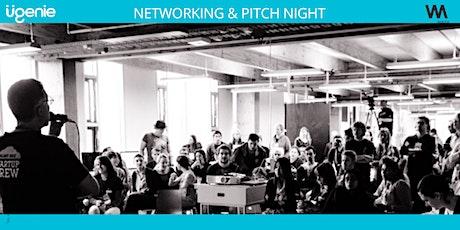 Ugenie & Wayra UK Productivity and Recruitment Pitch Night tickets