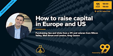 How to raise capital in Europe and US + Office Hours tickets