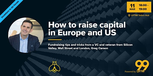 How to raise capital in Europe and US + Office Hours