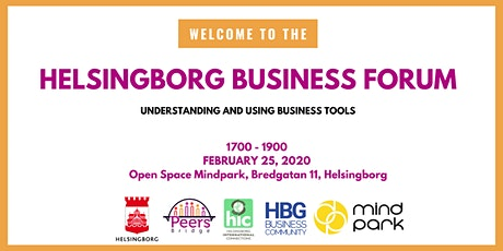 Helsingborg Business Forum # 4 - Introduction to Business Tools tickets