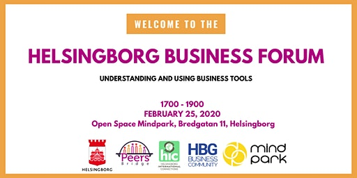 Helsingborg Business Forum # 4 - Introduction to Business Tools