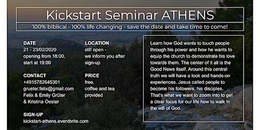 Kickstart Seminar ATHENS
