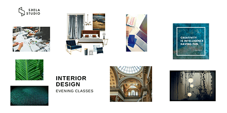 Interior Design Course - Edinburgh (5 evenings) 5th of May 2020 tickets