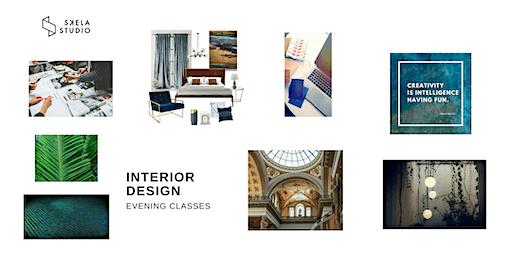 Interior Design Course - Edinburgh (5 evenings) 5th of May 2020