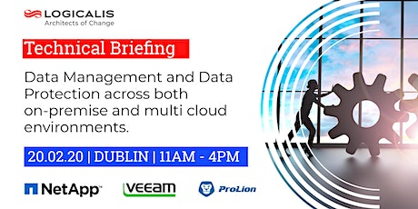Technical Event: Manage and protect your data on-premise and in any cloud tickets