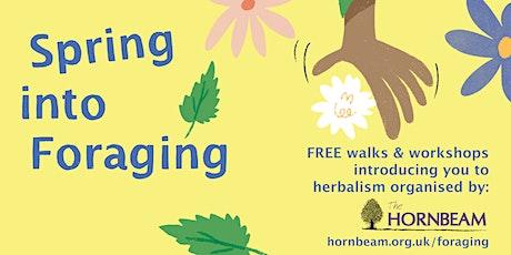 Spring Greens Vitality Walk &  Workshop tickets