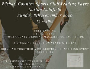 Wishaw Country Sports Club Autumn Wedding Fayre tickets