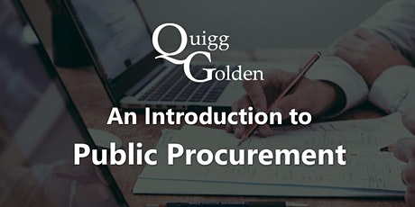 An Introduction to Public Procurement - Dublin tickets