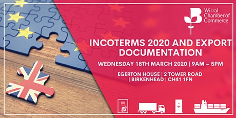 BCC Accredited Incoterms 2020 and Export Documentation Training tickets