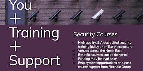 SIA Door Supervisor Qualification tickets