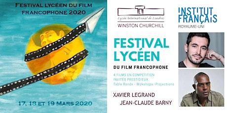 FESTIVAL Lycéen du Film Francophone 2020 tickets
