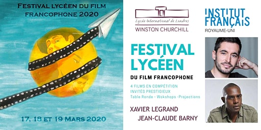 FESTIVAL Lycéen du Film Francophone 2020