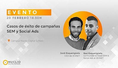 Casos de éxito de campañas SEM y Social Ads entradas