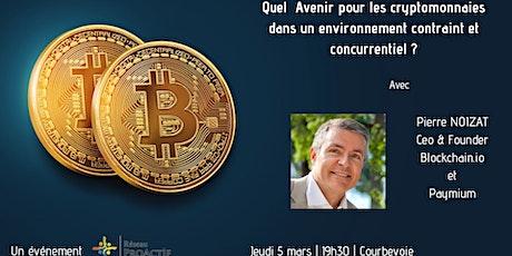 Cryptomonnaies  : Quel avenir dans un environnement concurrentiel ? billets