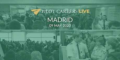 Pilot Careers Live Madrid - 09 May 2020 entradas
