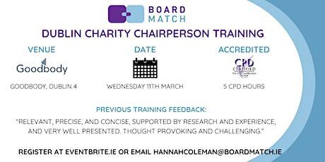 Boardmatch: Dublin Charity Chairperson Training (CPD Certified) tickets