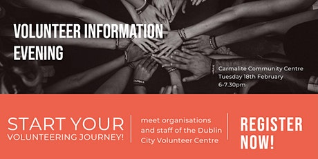 Volunteer Information Evening tickets