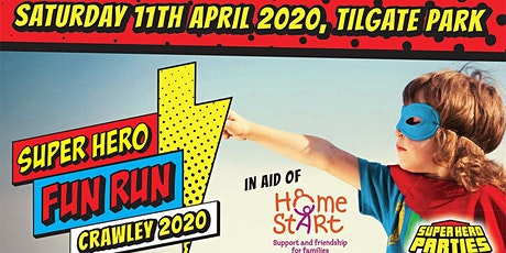 Super Hero Fun Run in aid of Home-Start CHAMS 2020 tickets