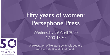 50 Years of Women: Persephone Press tickets