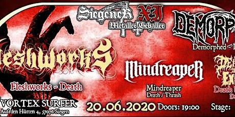 Siegener Metaller Geballer XI - Underground Edition Tickets