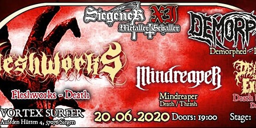 Siegener Metaller Geballer XI - Underground Edition