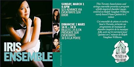 The Iris Ensemble tickets