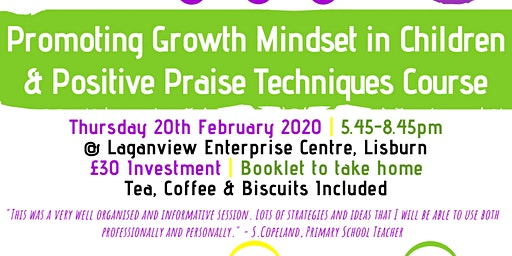 Promoting Growth Mindset in Children & Positive Praise Course