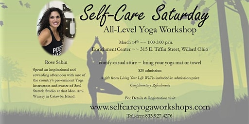 Self-Care Saturday    ~ All-level Yoga Workshop