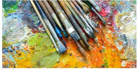 """Abstract Art Class: """"Everything but the Kitchen Sink!"""" tickets"""