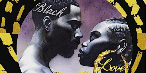 Black Love Sip N Paint