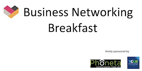 Heartlands March Business Networking Breakfast tickets