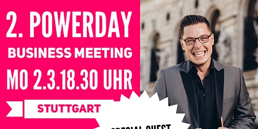 2.Powerday Businessmeeting STUTTGART