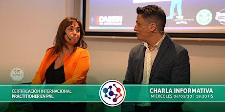 Charla Informativa Practitioner en PNL entradas