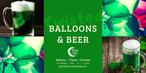 St. Paddy's Day - Balloons & Beer