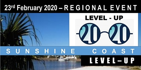 Sunshine Coast Regional Event LEVEL-UP tickets