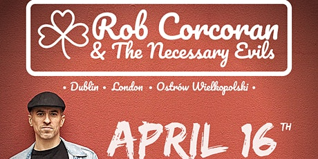 Rob Corcoran + Support from Conor O'Malley   tickets