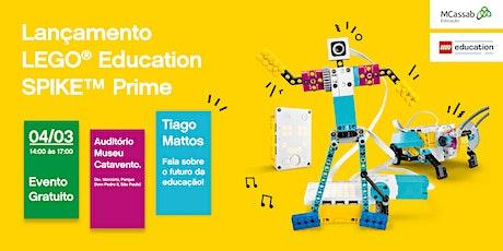 Lançamento LEGO Education SPIKE™ Prime! ingressos