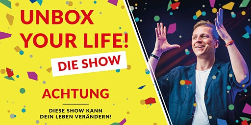 "Tobias Beck - ""Unbox your Life!"" | Lüneburg"