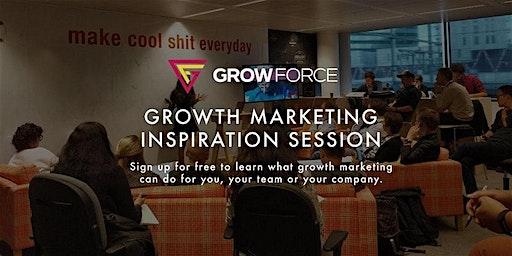 Growth Marketing Inspiratiesessie door GrowForce