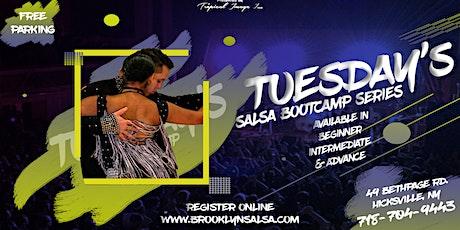 Long Island BEGINNER SALSA DANCING 4 WEEK BOOTCAMP tickets
