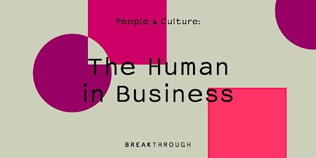 The Human in Business tickets