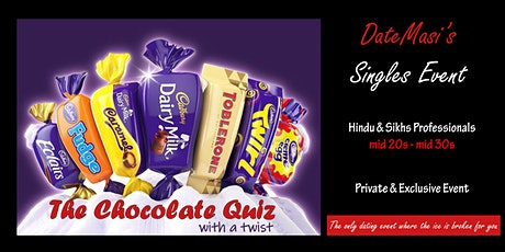 The Chocolate Quiz with a twist tickets