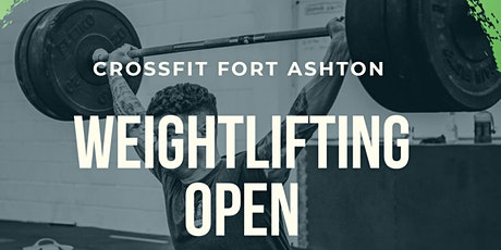 CrossFit Fort Ashton Weightlifting Open tickets