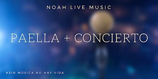 Paella y concierto Juanlu de la Rosa